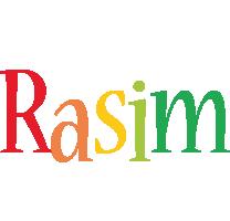 Rasim birthday logo