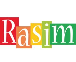 Rasim colors logo