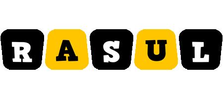 Rasul boots logo
