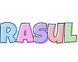 Rasul pastel logo