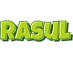 Rasul summer logo