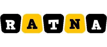Ratna boots logo