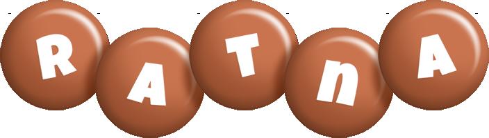 Ratna candy-brown logo