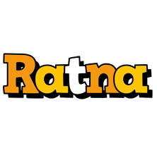Ratna cartoon logo