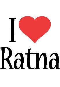 Ratna i-love logo