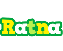 Ratna soccer logo