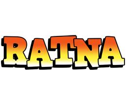 Ratna sunset logo