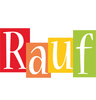 Rauf colors logo