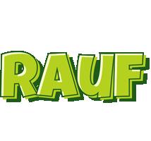 Rauf summer logo