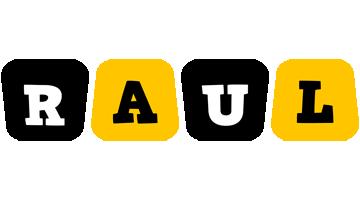 Raul boots logo