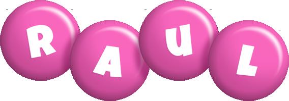 Raul candy-pink logo