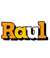 Raul cartoon logo