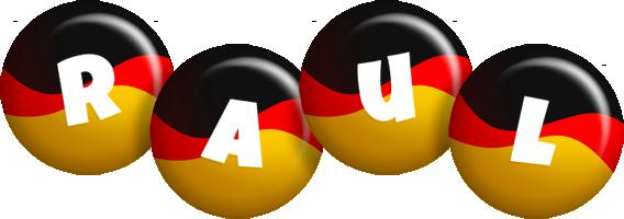 Raul german logo