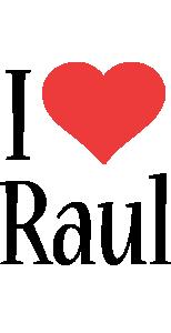 Raul i-love logo