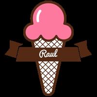 Raul premium logo