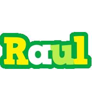 Raul soccer logo