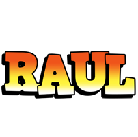 Raul sunset logo