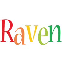 Raven birthday logo