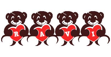 Ravi bear logo
