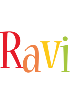 Ravi birthday logo