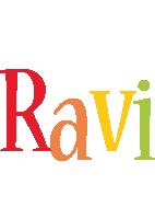Ravi birthday logo
