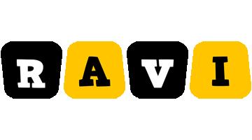 Ravi boots logo