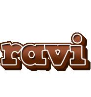 Ravi brownie logo