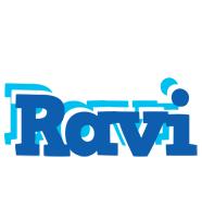 Ravi business logo