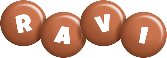 Ravi candy-brown logo