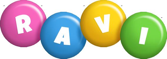 Ravi candy logo