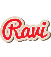 Ravi chocolate logo