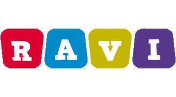 Ravi daycare logo