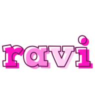 Ravi hello logo