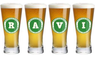 Ravi lager logo
