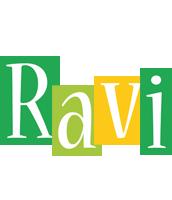 Ravi lemonade logo