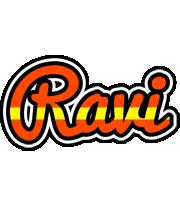 Ravi madrid logo