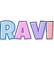Ravi pastel logo