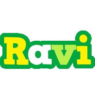 Ravi soccer logo