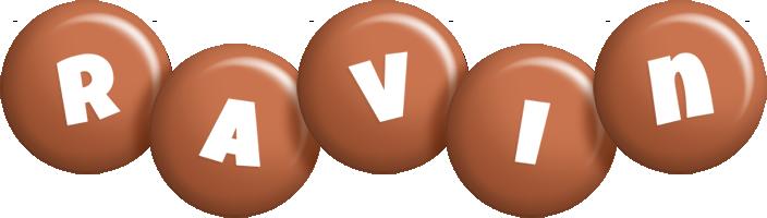 Ravin candy-brown logo