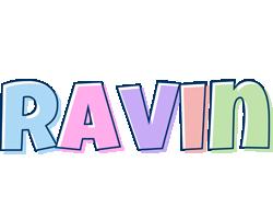 Ravin pastel logo