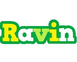 Ravin soccer logo