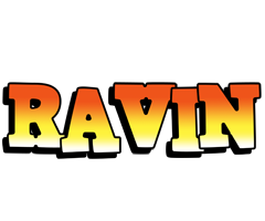 Ravin sunset logo