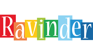 Ravinder colors logo