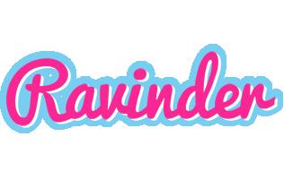 Ravinder popstar logo