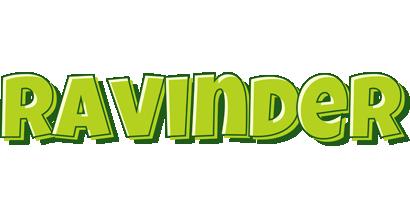 Ravinder summer logo