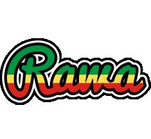Rawa african logo