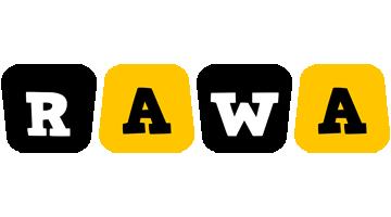 Rawa boots logo