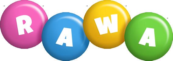 Rawa candy logo