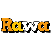 Rawa cartoon logo