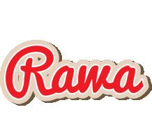 Rawa chocolate logo